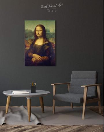Mona Lisa Canvas Wall Art - image 2