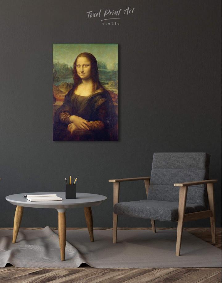 Mona Lisa by Leonardo da Vinci Canvas Wall Art - Image 2