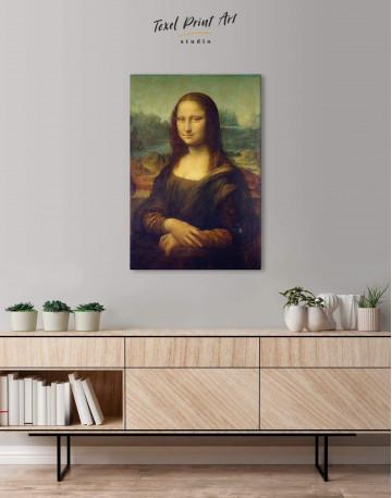 Mona Lisa Canvas Wall Art