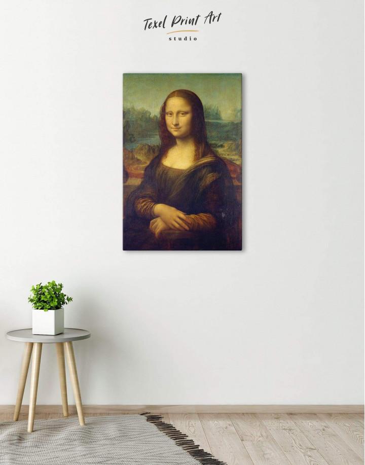 Mona Lisa by Leonardo da Vinci Canvas Wall Art - Image 4