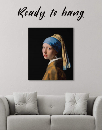 Girl with a Pearl Earring Canvas Wall Art
