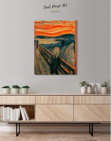 The Scream Canvas Wall Art