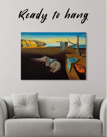 The Persistence of Memory Canvas Wall Art