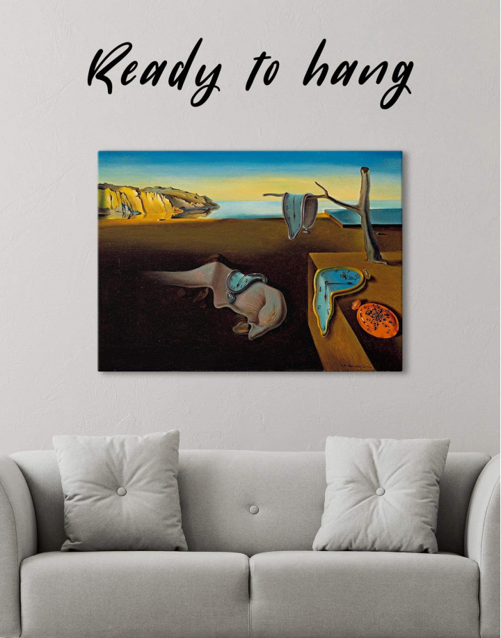 The Persistence of Memory by Salvador Dali Canvas Wall Art - Image 0