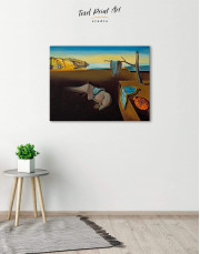 The Persistence of Memory by Salvador Dali Canvas Wall Art - Image 2