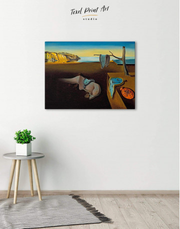 The Persistence of Memory Canvas Wall Art - image 3