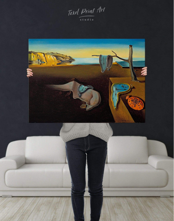 The Persistence of Memory by Salvador Dali Canvas Wall Art - Image 3