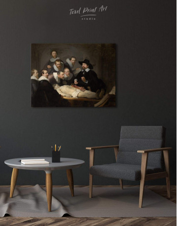 The Anatomy Lesson of Dr. Nicolaes Tulp Canvas Wall Art - image 1