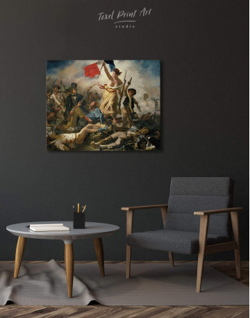 Liberty Leading the People Canvas Wall Art - image 1