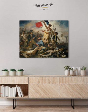 Liberty Leading the People Canvas Wall Art - image 2