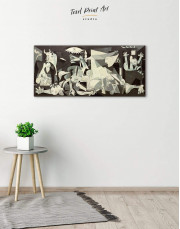 Guernica by Picasso Canvas Wall Art - Image 1