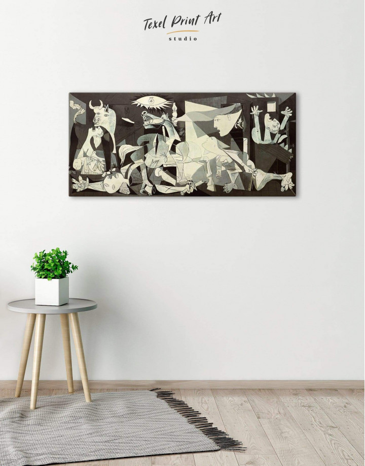 Guernica by Picasso Canvas Wall Art - Image 3
