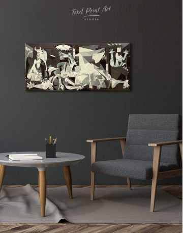 Guernica Canvas Wall Art - image 2