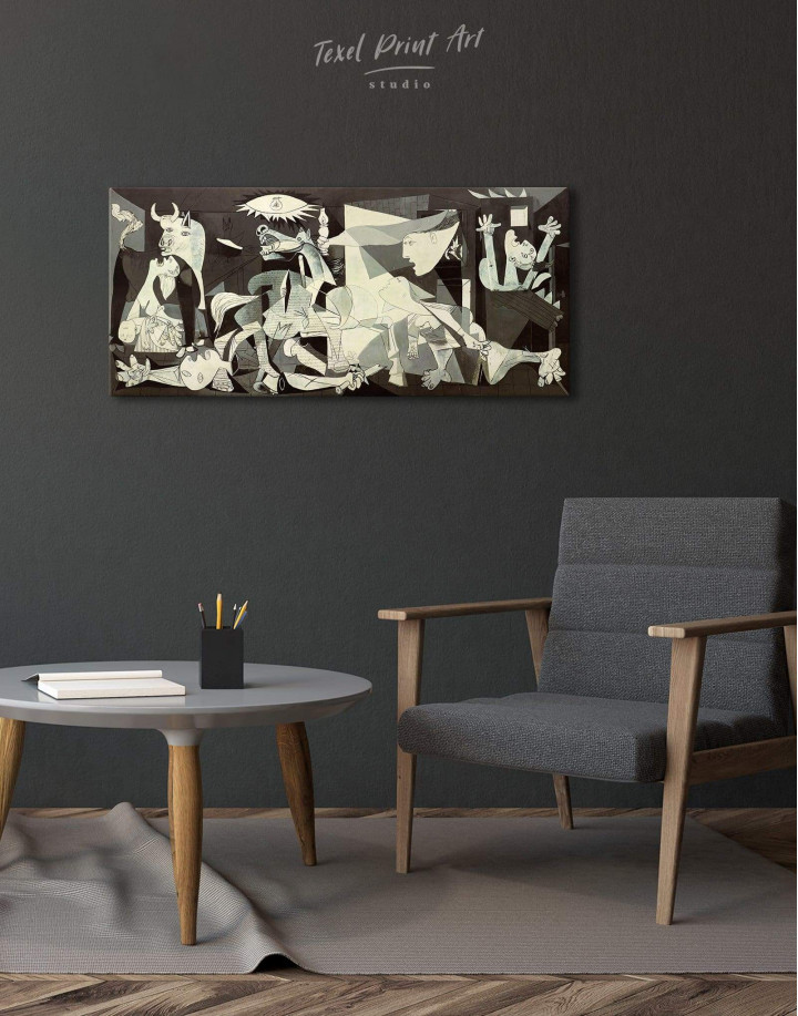Guernica by Picasso Canvas Wall Art - Image 2