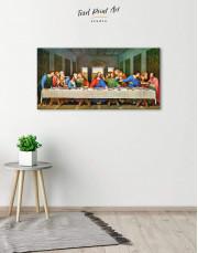 The Last Supper by Leonardo da Vinci Canvas Wall Art - Image 1