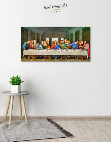 The Last Supper Canvas Wall Art - image 3