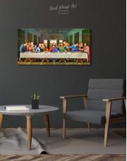 The Last Supper by Leonardo da Vinci Canvas Wall Art - Image 2
