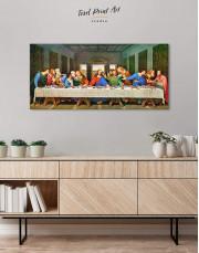 The Last Supper by Leonardo da Vinci Canvas Wall Art - Image 3