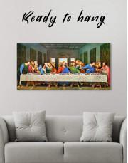 The Last Supper by Leonardo da Vinci Canvas Wall Art