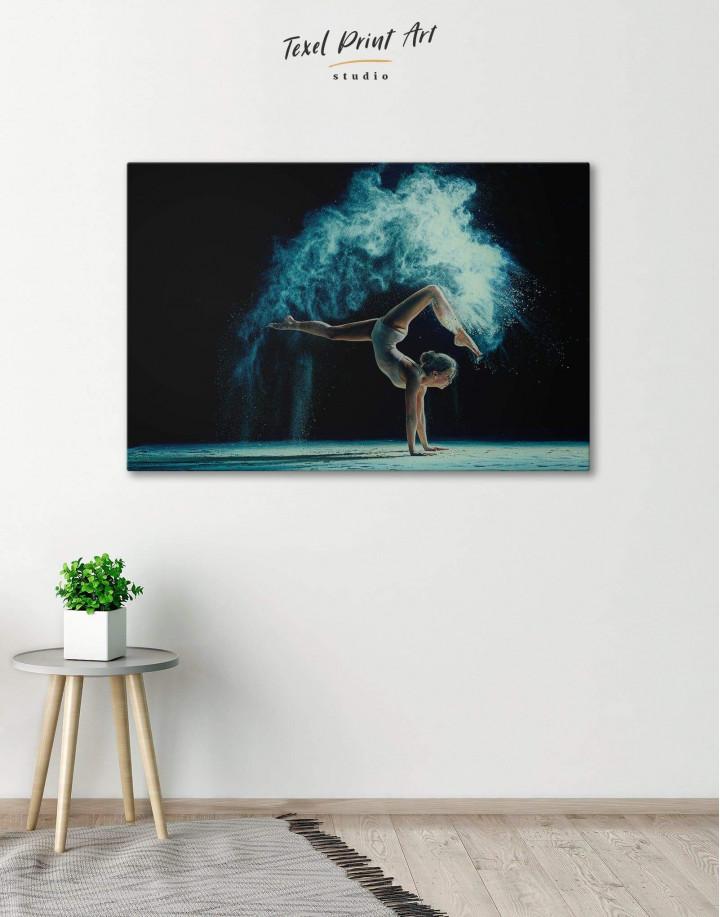 Gymnastics Girl Canvas Wall Art - Image 5