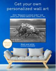 Speedy Horse Racing Canvas Wall Art - Image 5