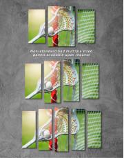 Lacrosse Stick Canvas Wall Art - Image 2