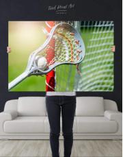 Lacrosse Stick Canvas Wall Art - Image 4