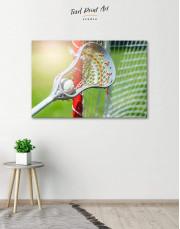 Lacrosse Stick Canvas Wall Art