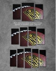 NFL Rugby Ball Canvas Wall Art - Image 4