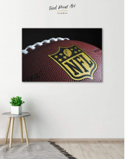 NFL Rugby Ball Canvas Wall Art