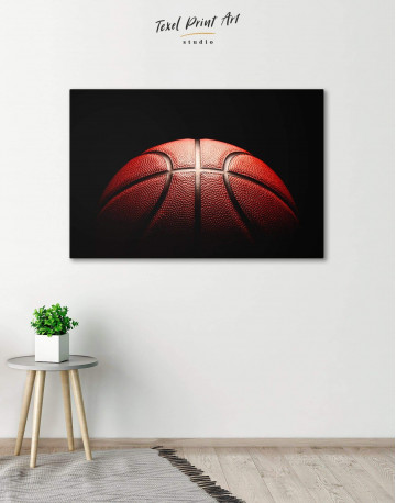 Basketball Ball Canvas Wall Art