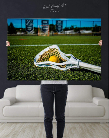 Lacrosse Game Canvas Wall Art - image 2