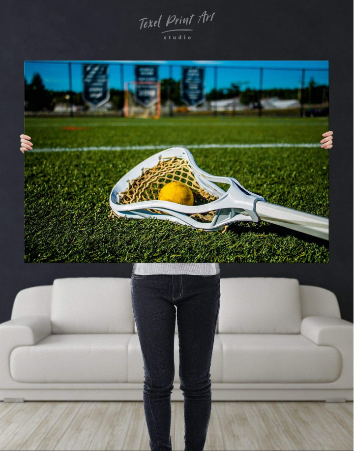 Lacrosse Game Canvas Wall Art - Image 4