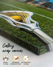 Lacrosse Game Canvas Wall Art - Image 1