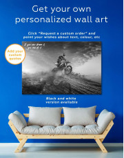 Extreme Motocross Canvas Wall Art - Image 5