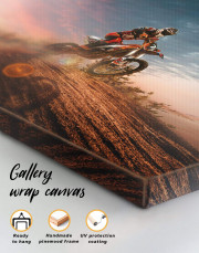 Extreme Motocross Canvas Wall Art - Image 1