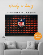 NFL Rugby Logo Canvas Wall Art
