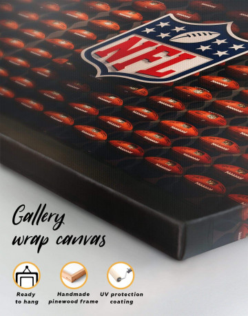 NFL Rugby Logo Canvas Wall Art - image 5