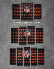 NFL Rugby Logo Canvas Wall Art - Image 2