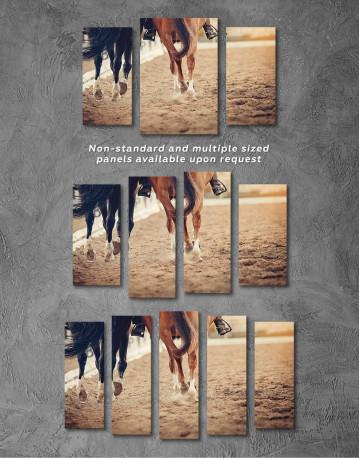 Hippodrome Horse Racing Canvas Wall Art - image 2