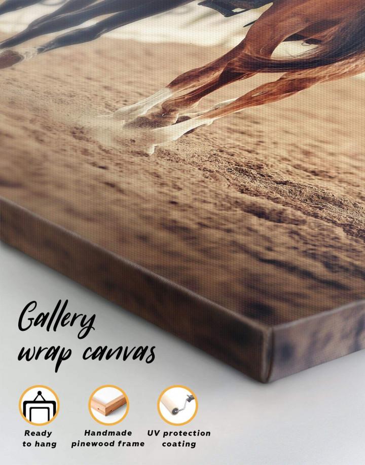 Hippodrome Horse Racing Canvas Wall Art - Image 5