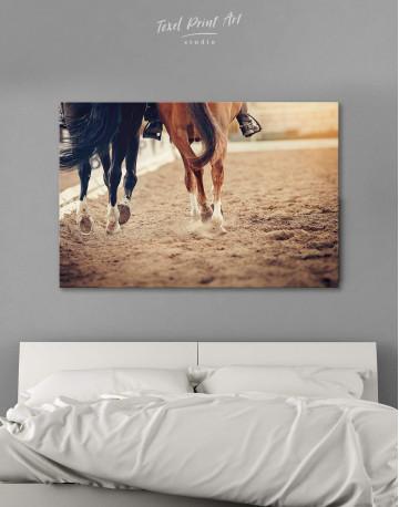 Hippodrome Horse Racing Canvas Wall Art
