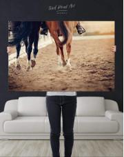 Hippodrome Horse Racing Canvas Wall Art - Image 4