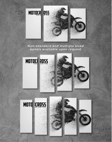 Motocross Ride Baby Ride Canvas Wall Art - image 2
