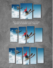 Extreme Skiing Canvas Wall Art - Image 4