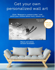Extreme Skiing Canvas Wall Art - Image 5