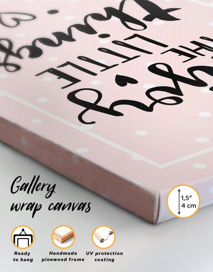 Enjoy the Little Things Canvas Wall Art - Image 5