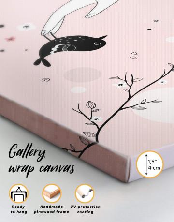 Bird Nursery Canvas Wall Art - image 6