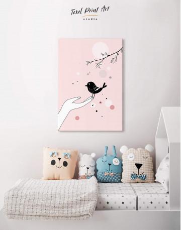 Bird Nursery Canvas Wall Art - image 4