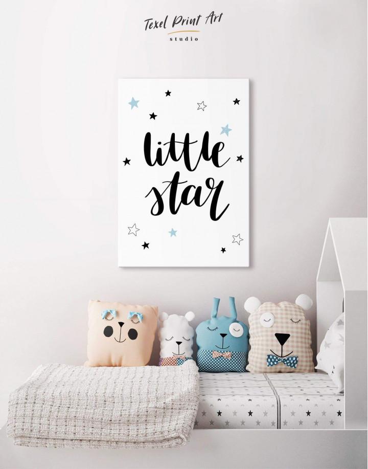 Little Star Nursery Canvas Wall Art - Image 4